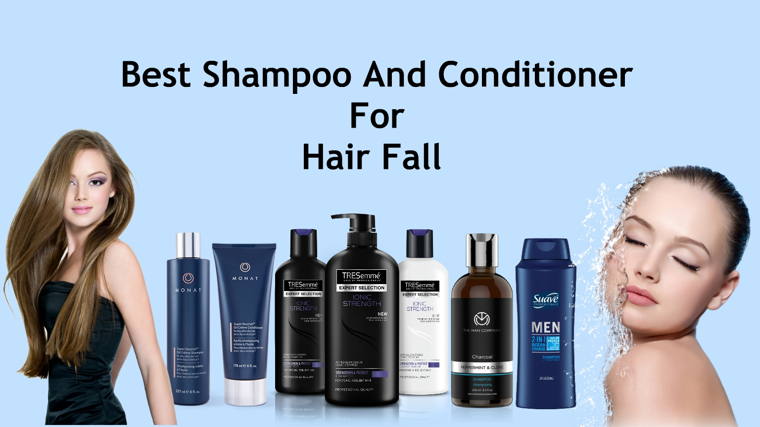 Best Shampoo And Conditioner For Hair Fall